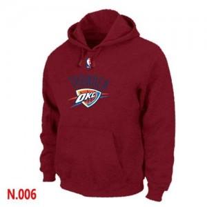 Sudadera NBA Oklahoma City Thunder Rojo - Hombre
