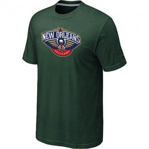 T-Shirts NBA Big & Tall New Orleans Pelicans Verde oscuro - Hombre