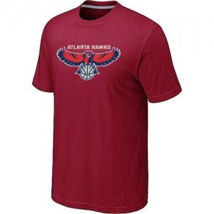 T-Shirts NBA Big & Tall Atlanta Hawks Rojo - Hombre