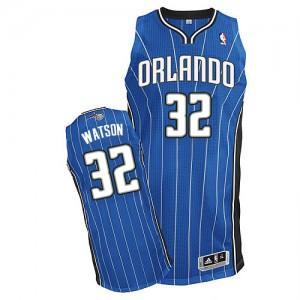 Hombre Camiseta C.J. Watson #32 Orlando Magic Adidas Road Azul real Authentic