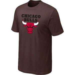 T-Shirt Hombre NBA Chicago Bulls Big & Tall marrón