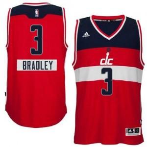 Camiseta NBA 2014-15 Christmas Day Washington Wizards Rojo Authentic - Hombre - #3 Bradley Beal