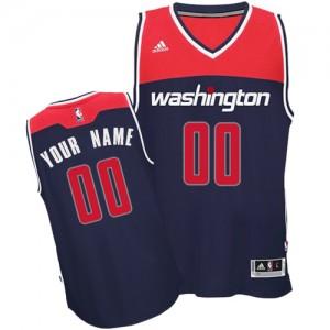 Camiseta NBA Alternate Washington Wizards Azul marino - Adolescentes - Personalizadas Swingman