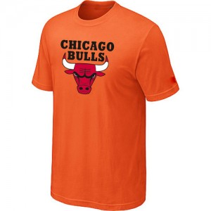 T-Shirt Hombre NBA Chicago Bulls Big & Tall naranja