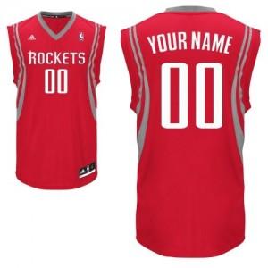 Houston Rockets Adidas Road Rojo Camiseta de la NBA - Swingman Personalizadas - Hombre