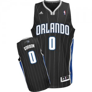 Camiseta NBA Orlando Magic Aaron Gordon #0 Alternate Adidas Negro Swingman - Hombre