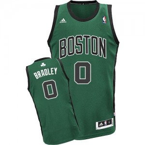 Camiseta Swingman Avery Bradley #0 Boston Celtics Alternate Verde (negro No.) - Hombre