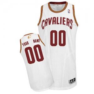 Camiseta NBA Cleveland Cavaliers Authentic Personalizadas Home Adidas Blanco - Adolescentes