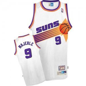 Camiseta NBA Phoenix Suns Dan Majerle #9 Throwback Adidas Blanco Authentic - Hombre