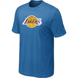 T-Shirts NBA Big & Tall Azul claro - Los Angeles Lakers - Hombre