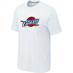T-Shirt Primary Logo Hombre NBA Cleveland Cavaliers Big & Tall Blanco