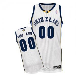 Camisetas Baloncesto Adolescentes NBA Memphis Grizzlies Home Authentic Personalizadas Blanco