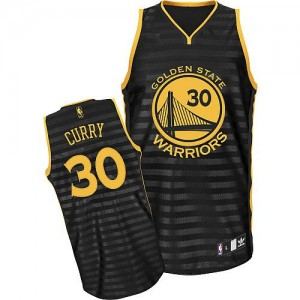 Mujer Camiseta Stephen Curry #30 Golden State Warriors Adidas Groove Gris oscuro Authentic