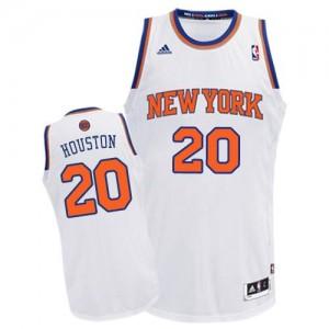 Camiseta NBA Swingman Allan Houston #20 Home Blanco - New York Knicks - Hombre