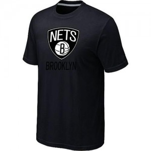 T-Shirts NBA Big & Tall Brooklyn Nets Negro - Hombre