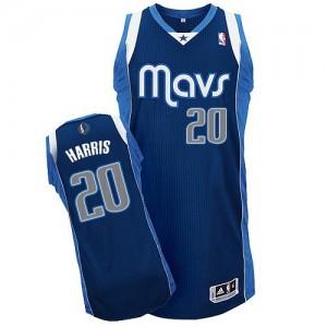 Dallas Mavericks Adidas Alternate Azul marino Authentic Camiseta de la NBA - Devin Harris #20 - Hombre