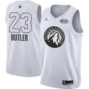 Niño Camiseta Jimmy Butler #23 Minnesota Timberwolves Jordan 2018 All-Star Game Blanco Swingman