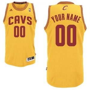 Camiseta NBA Cleveland Cavaliers Swingman Personalizadas Alternate Adidas Oro - Hombre