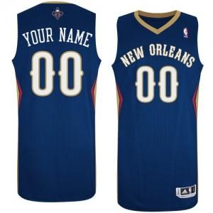 Camiseta NBA Authentic Personalizadas Road Azul marino - New Orleans Pelicans - Hombre