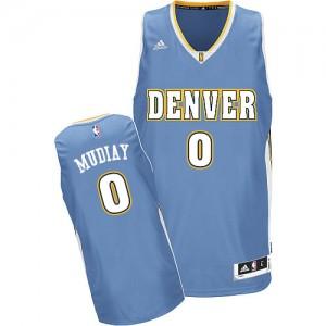 Camiseta NBA Swingman Emmanuel Mudiay #0 Road Azul claro - Denver Nuggets - Hombre