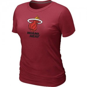 Miami Heat Big & Tall Rojo T-Shirts de la NBA - Mujer