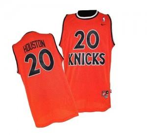 Camiseta NBA Authentic Allan Houston #20 Throwback naranja - New York Knicks - Hombre