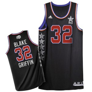 Camisetas Baloncesto Hombre NBA Los Angeles Clippers 2015 All Star Authentic Blake Griffin #32 Negro