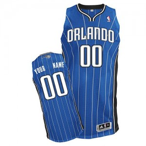 Camiseta NBA Orlando Magic Authentic Personalizadas Road Adidas Azul real - Adolescentes