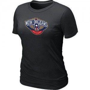 T-Shirt Primary Logo Mujer NBA New Orleans Pelicans Big & Tall Negro