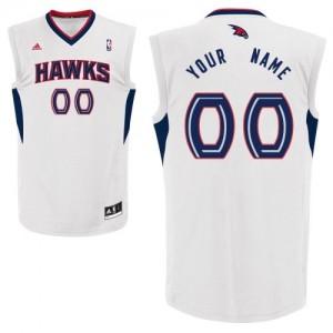 Camiseta NBA Swingman Personalizadas Home Blanco - Atlanta Hawks - Adolescentes
