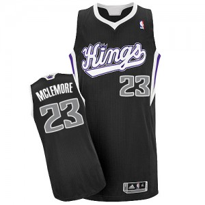 Camiseta NBA Authentic Ben McLemore #23 Alternate Negro - Sacramento Kings - Hombre