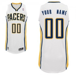 Camiseta NBA Home Indiana Pacers Blanco - Hombre - Personalizadas Authentic