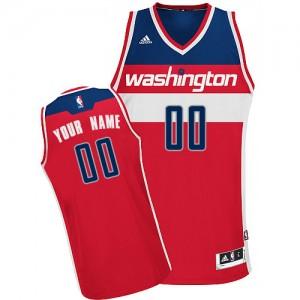 Camiseta NBA Road Washington Wizards Rojo - Adolescentes - Personalizadas Swingman