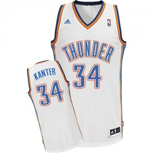 Camiseta NBA Swingman Enes Kanter #34 Home Blanco - Oklahoma City Thunder - Hombre