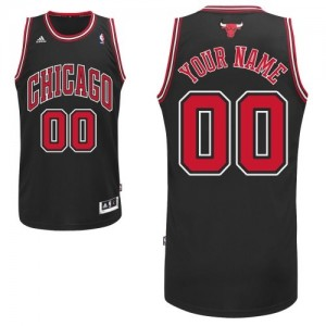 Camiseta NBA Chicago Bulls Swingman Personalizadas Alternate Adidas Negro - Hombre