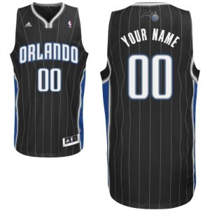 Camiseta NBA Orlando Magic Swingman Personalizadas Alternate Adidas Negro - Adolescentes