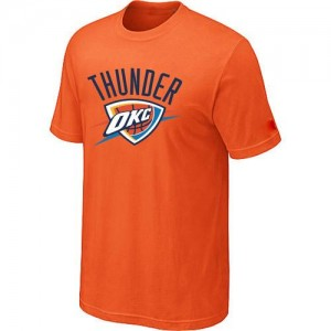 T-Shirts NBA Oklahoma City Thunder Big & Tall naranja - Hombre