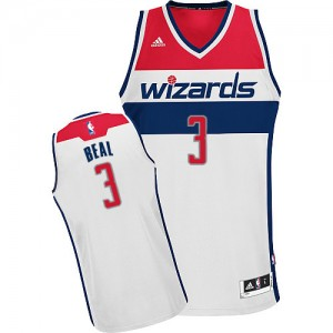 Camiseta NBA Home Washington Wizards Blanco Swingman - Hombre - #3 Bradley Beal