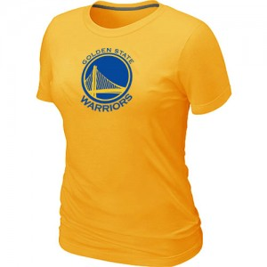 T-Shirts Golden State Warriors Big & Tall Amarillo - Mujer