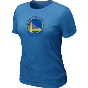 T-Shirts Golden State Warriors Big & Tall Azul claro - Mujer