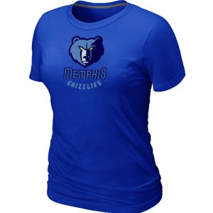 T-Shirts NBA Big & Tall Azul - Memphis Grizzlies - Mujer