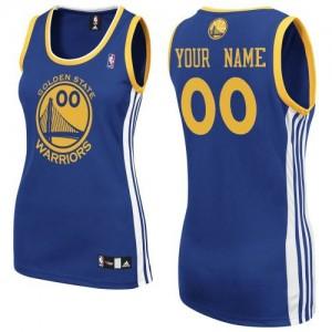 Golden State Warriors Adidas Road Azul real Camiseta de la NBA - Authentic Personalizadas - Mujer