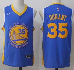 Camiseta Kevin Durant #35 Stitched Camino real - Golden State Warriors
