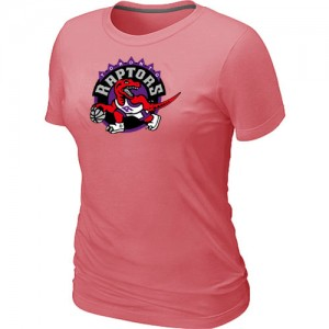 Mujer T-Shirts Toronto Raptors Big & Tall Rosado