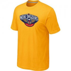 T-Shirts NBA Big & Tall New Orleans Pelicans Amarillo - Hombre