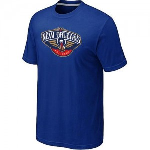 T-Shirts NBA Big & Tall New Orleans Pelicans Azul - Hombre
