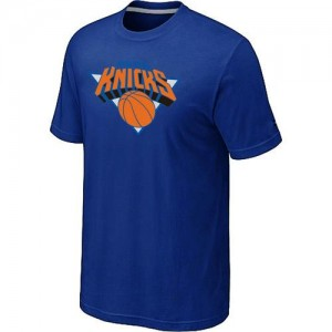 T-Shirts New York Knicks Big & Tall Azul - Hombre