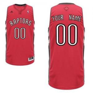 Toronto Raptors Adidas Road Rojo Camiseta de la NBA - Swingman Personalizadas - Hombre