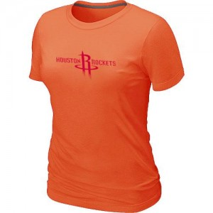T-Shirts Houston Rockets Big & Tall naranja - Mujer