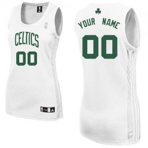 Camiseta NBA Authentic Personalizadas Home Blanco - Boston Celtics - Mujer